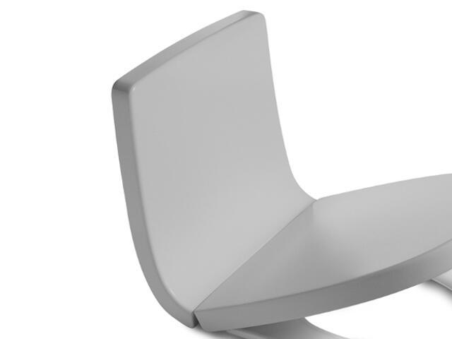 Oparcie WC Khroma Soft Texture SILVER GREY A80165AF1T Roca