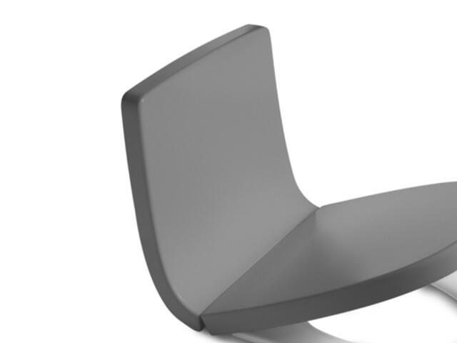 Oparcie WC Khroma Soft Texture STREET GREY A80165AF2T Roca