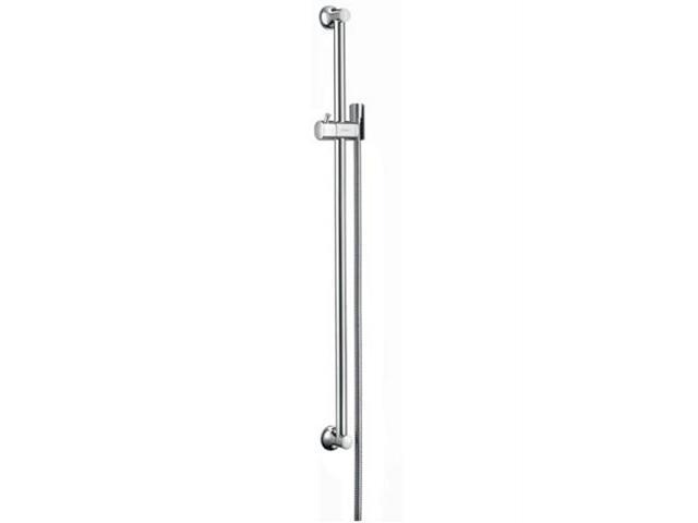 Drążek prysznicowy Unica' Classic 0,90 m z wężem 1,60 m nikiel szczotk. 27616820 Hansgrohe