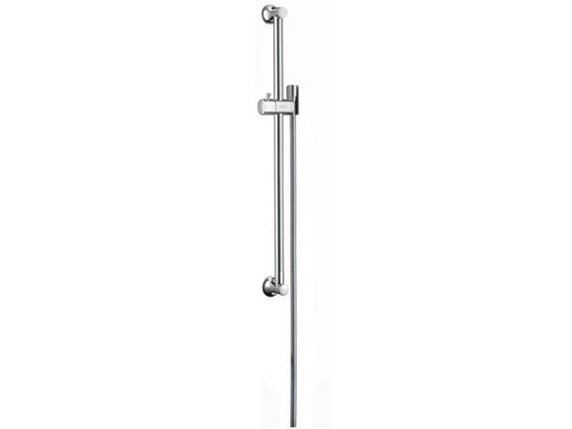 Drążek prysznicowy Unica' Classic 0,65 m z wężem 1,60 m nikiel szczotk. 27617820 Hansgrohe