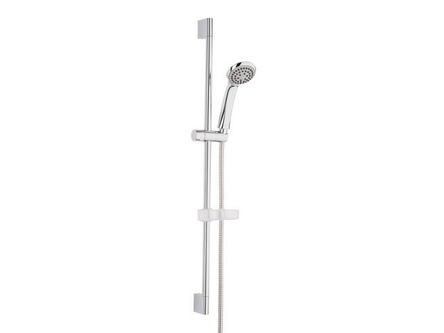 Zestaw prysznicowy VERNA z 1-funkcyjną rączką natrysku z drążkiem WM3SKVE1Z000001 Roca Zoom