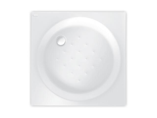 Brodzik kwadratowy TORINO 90x90 white PBKB710B0000000 Poolspa