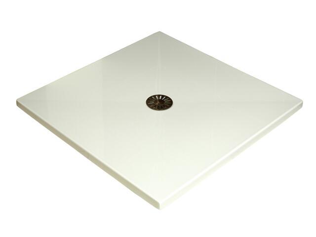 Brodzik kwadratowy 90x90cm PŁASKI (3.040) Sched-Pol
