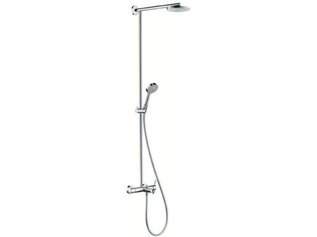 Zestaw prysznicowy Raindance 180 bateria EcoSmart chrom 27104000 Hansgrohe