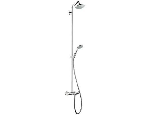Zestaw prysznicowy Croma 100 EcoSmart do wanny chrom 27144000 Hansgrohe