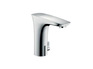 Bateria umywalkowa stojąca bezdotykowa PuraVida Electronic biały/chrom 230V 15172400 Hansgrohe