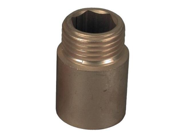 Przedłużka 12,7x80mm mosiężna Ferro