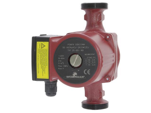 Pompa obiegowa 25-60 180mm 0202W Weberman