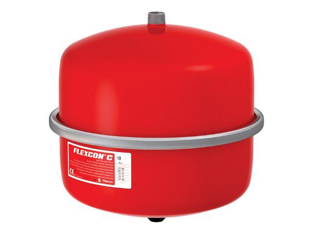 Naczynie przeponowe FLEXCON C 18L 1,5-3bar Flamco