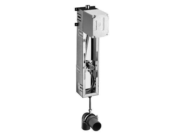 Spłuczka podtynkowa do pisuaru Compact II z modułem montażowym do obmurowania Schell