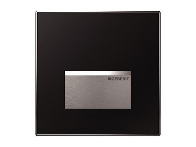 Zawór pisuarowy HyTouch, pneumatyczny, ręczny, Sigma50, czarny (DW) 116.016.DW.1 Geberit