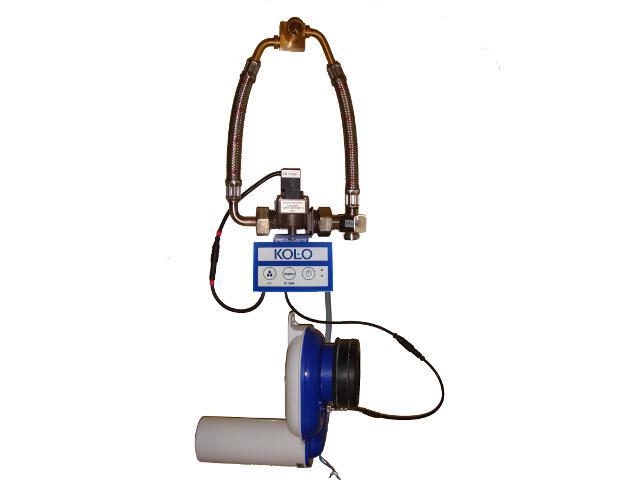System spłukujący termiczny zasilany z sieci 96026000 Koło