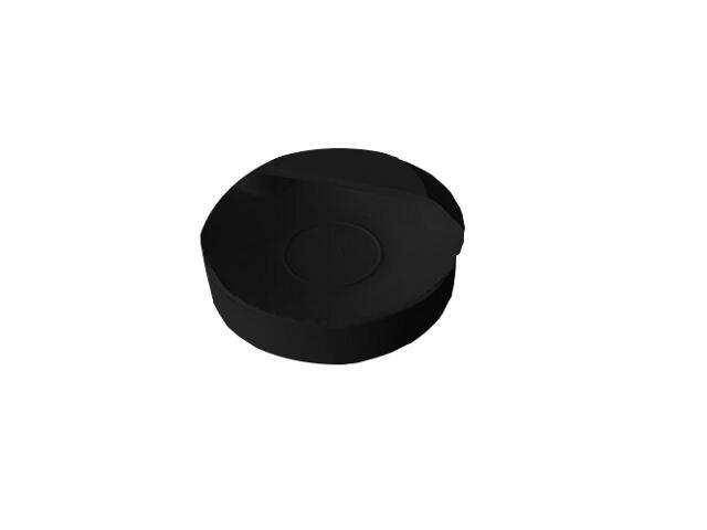Korek odpływowy do umywalki 42mm czarny TiA