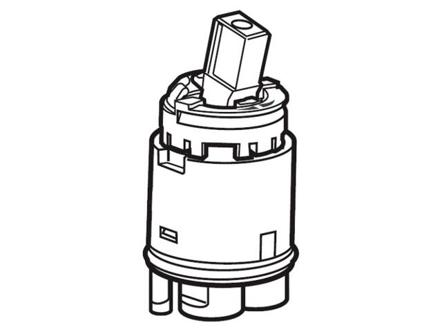 Głowica do baterii R33 A525022907 Roca