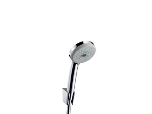 Zestaw prysznicowy CROMA 100 Multi/Porter'S wąż Isiflex 1,60 m chrom 27595000 Hansgrohe
