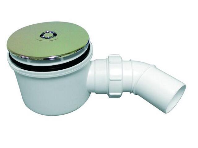 Syfon brodzikowy wys.80mm 40/50mm pokrywa ABS (HC2750LCP) McAlpine