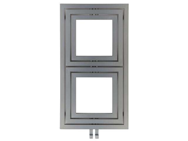 Grzejnik łazienkowy LIBRA L-611 silver Enix