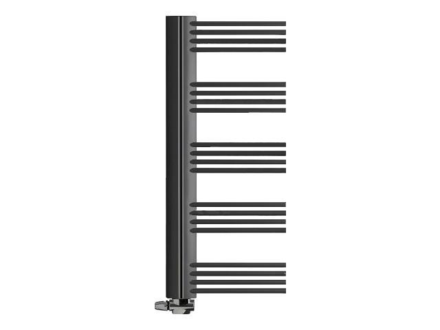 Grzejnik łazienkowy ELITE E-611P grafit strukturalny Enix