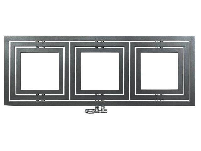 Grzejnik łazienkowy LIBRA L-1606 strukturalny grafit Enix