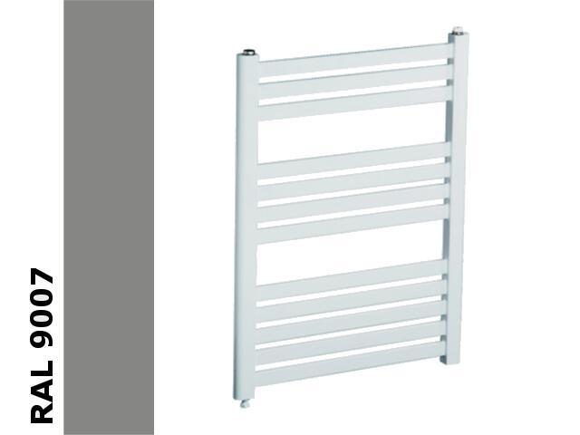 Grzejnik łazienkowy AD1-500/EP RAL 9007 aluminium grey Radeco