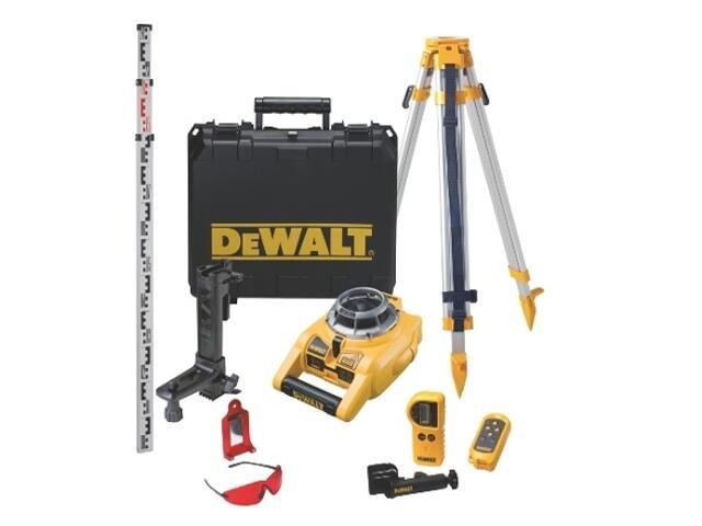 Zestaw laserowy do wyznaczania pionu i poziomu DW075PK DeWALT