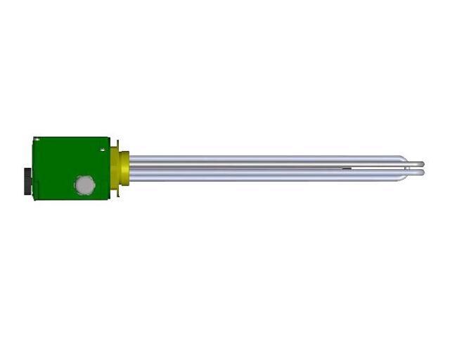 """Grzałka elektryczna do ogrzewaczy c.w.u. 4,5kW 230/400V 6/4"""" WP-6,8 Nibe-Biawar"""