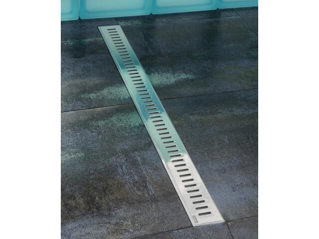 Odpływ liniowy ZEBRA 850 nierdzewny X01389 Ravak