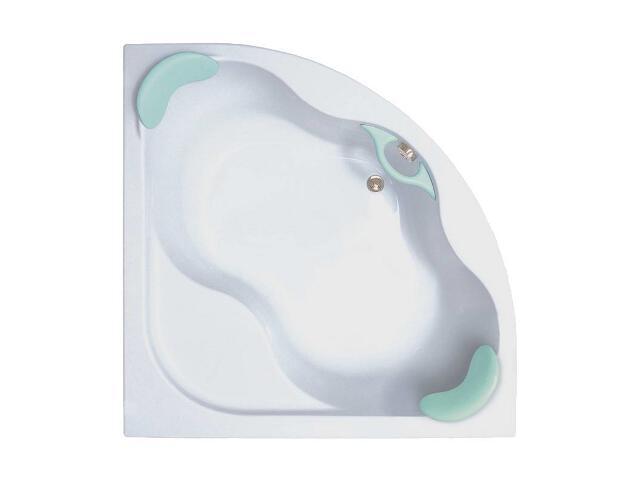 Wanna narożna symetryczna GENTIANA PU-Plus 150x150 snowwhite CG11000000 Ravak