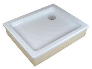 Brodzik prostokątny ANETA 75x90 EX KASKADA biały A003701320 Ravak