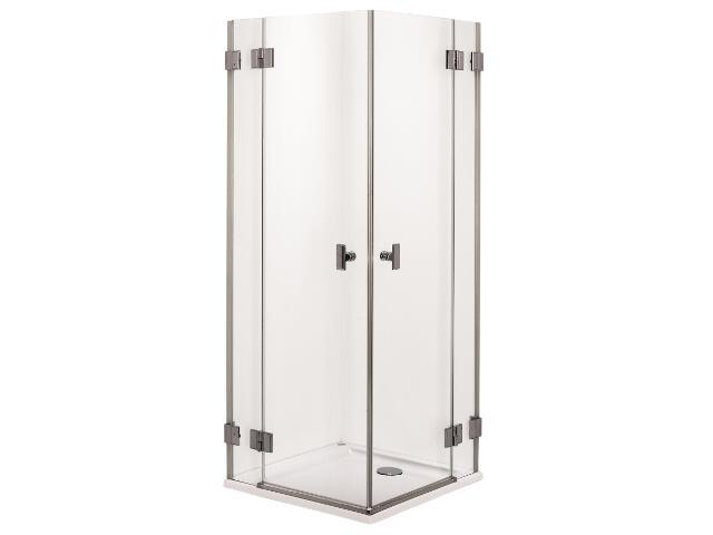 Kabina prysznicowa kwadratowa NIVEN 80cm szkło hart. Reflex FKDF80222003 Koło
