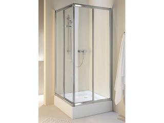 Kabina prysznicowa kwadratowa AKORD 80x80cm szkło hartowane, półmat RKDK80222005 Koło