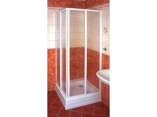 Element kabiny prysznicowej SUPERNOVA SRV2-80 S profil biały, polistyren rain 14V4010241 Ravak