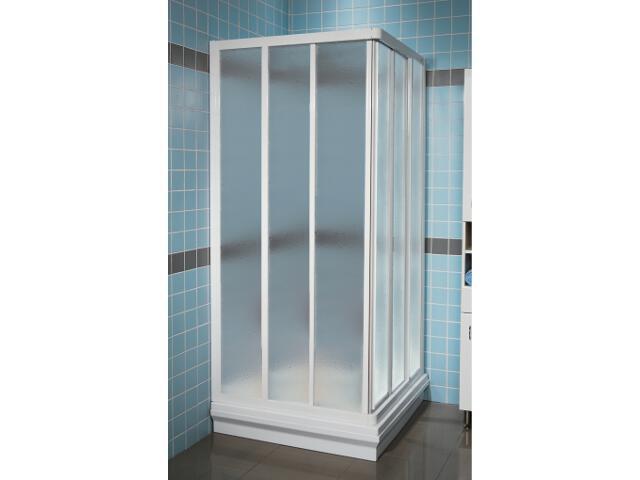 Element kabiny prysznicowej SUPERNOVA ASRV3-90 profil biały, polistyren pearl 15V7010211 Ravak