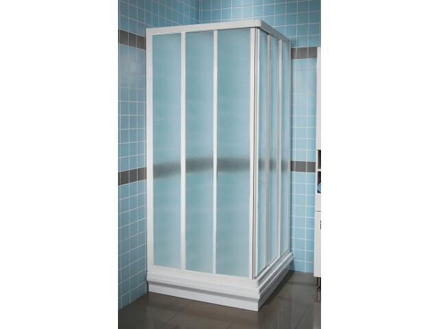 Element kabiny prysznicowej SUPERNOVA ASRV3-80 profil biały, szkło grape 15V40102ZG Ravak