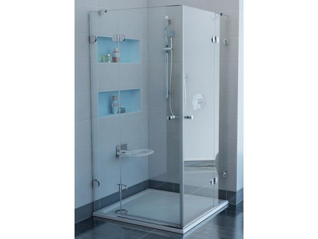 Kabina prysznicowa kwadratowa GLASSLINE GSRV4-100, szkło transparentne 17VAAA00Z1 Ravak