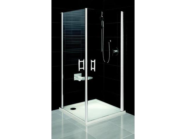 Kabina prysznicowa kwadratowa ELEGANCE ESKR2-100 szkło transparentne 1JEA0100Z1 Ravak