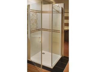 Kabina prysznicowa kwadratowa ELEGANCE ESKPS-80 L szkło transparentne 1ML40100Z1 Ravak