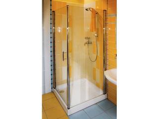Kabina prysznicowa kwadratowa ELEGANCE ESKPS-90 L, szkło transparentne 1ML70A00Z1 Ravak