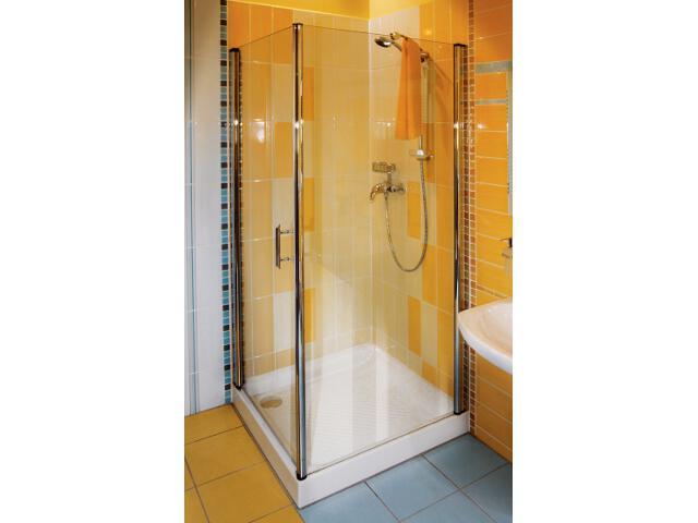 Kabina prysznicowa kwadratowa ELEGANCE ESKPS-100 L, szkło transparentne 1MLA0A00Z1 Ravak