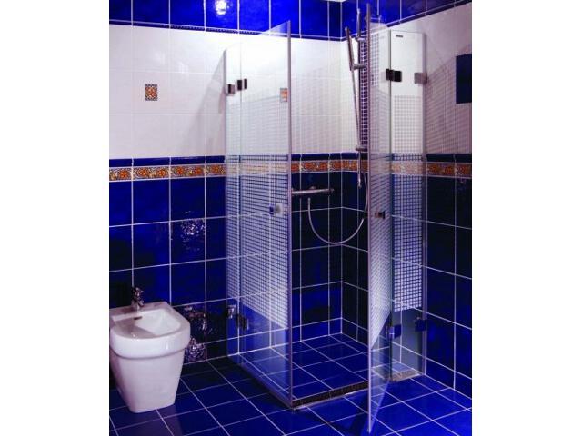 Kabina prysznicowa kwadratowa GLASSLINE MATRIX GSRV4-90, szkło wzór 17V77A00ZM Ravak