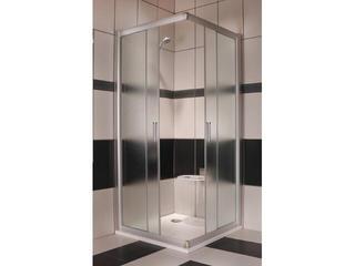 Kabina prysznicowa kwadratowa RAPIER NRKRV2-100 profil satyna, szkło grape 1ANA0U00ZG Ravak