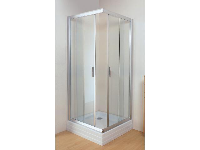 Kabina prysznicowa kwadratowa RAPIER NRKRV2-100 szkło transparentne 1ANA0U00Z1 Ravak