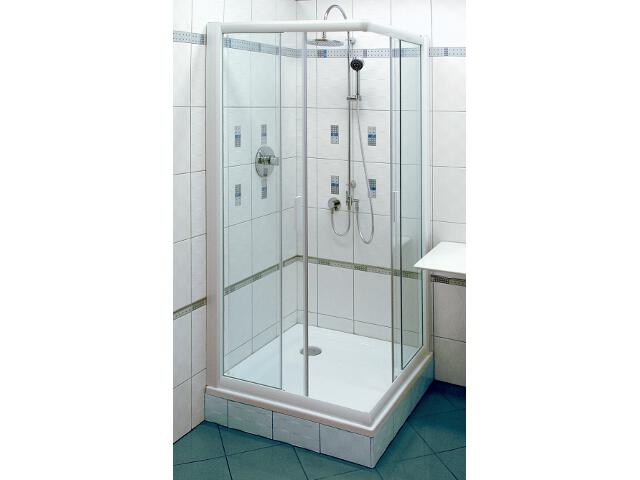 Kabina prysznicowa kwadratowa RAPIER NRKRV2-100 szkło transparentne 1ANA0100Z1 Ravak