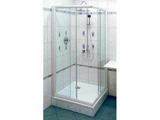 Kabina prysznicowa kwadratowa RAPIER NRKRV2-80 szkło transparentne 1AN40100Z1 Ravak