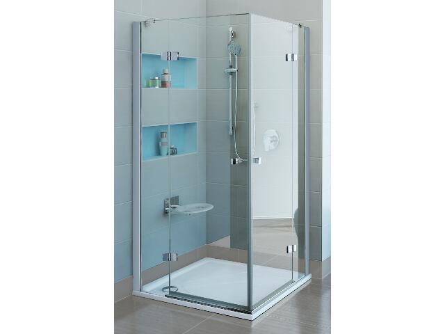 Kabina prysznicowa kwadratowa FINELINE FSRV4-80, szkło transparentne 1RV44A00Z1 Ravak