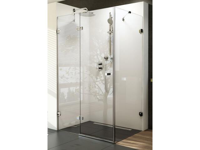 Kabina prysznicowa kwadratowa BRILLIANT BSDPS-80/80 L, szkło transparentne 0UL44A00Z1 Ravak