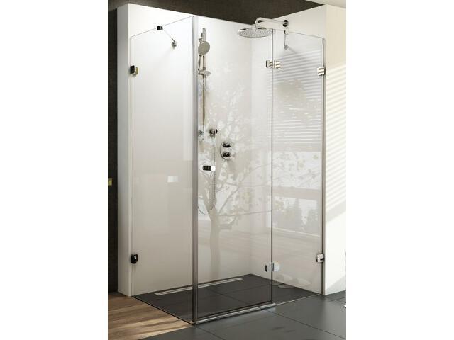 Kabina prysznicowa kwadratowa BRILLIANT BSDPS-80/80 P, szkło transparentne 0UP44A00Z1 Ravak