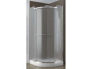 Kabina prysznicowa półokrągła PUENTA SIMPLA 80 jednoskrzydłowa 100-06591 Aquaform