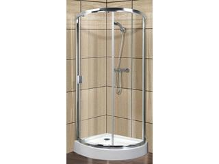 Kabina prysznicowa półokrągła LAZURO 90 wycinek koła 107-06567 Aquaform