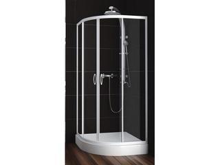 Kabina prysznicowa półokrągła NIGRA 80 100-091311 Aquaform